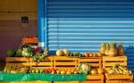 Barra fruit & vegetable stand